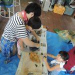 森の陶芸教室を実施しました。