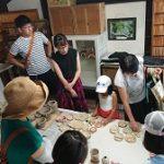 森の陶芸教室1期3回目(窯出し)