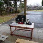 持込火器具が使えるテーブル設置