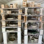 陶芸教室 本焼き・窯出し終了しました。