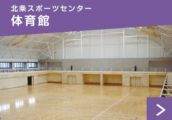 北条スポーツセンター:体育館